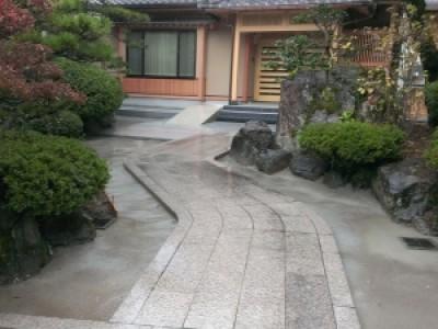 【施工事例】住宅石工事