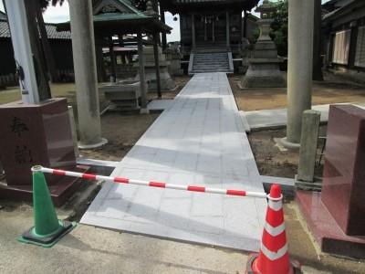 【施工事例】神社工事