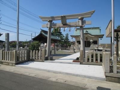 【施工事例】神社参道工事