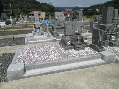 【施工事例】オリジナル洋墓完成!