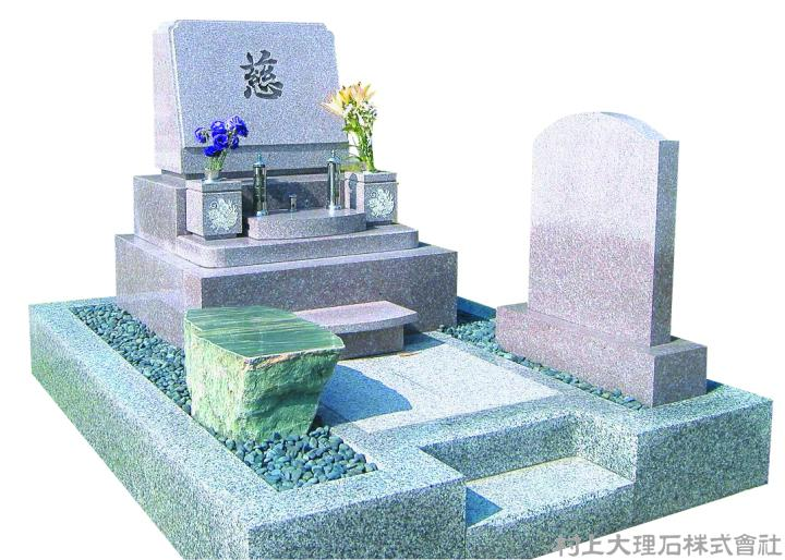 洋型墓石の定番構成