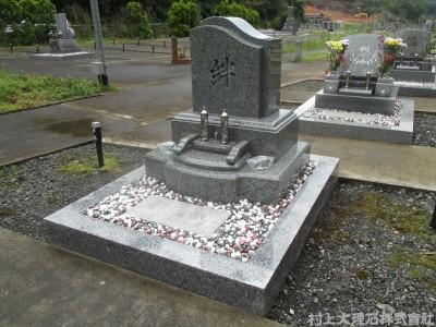 【施工】洋型墓石 施工例