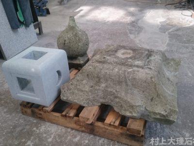 笏谷石の補修・修復