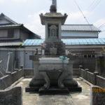 総墓改修工事(途中)